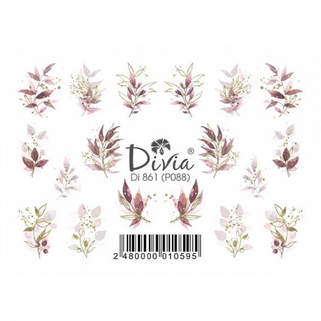 "Наклейки на ногти ""Рельеф"" Di861 [P088] Divia"