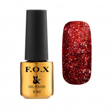 Гель-лак для ногтей Gold Brilliance Gel Polish 014, 6 мл F.O.X