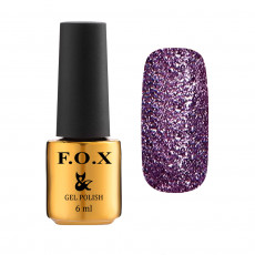 Гель-лак для ногтей Gold Brilliance Gel Polish 015, 6 мл F.O.X