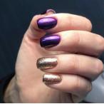 Гель-лак для ногтейgel-polishgoldPigment027,6мл F.O.X