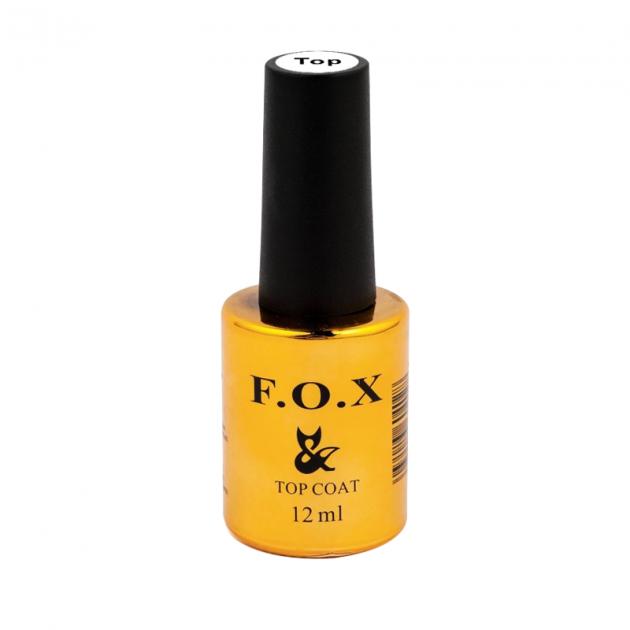 Топовое (финишное) покрытие для ногтей Top 12 мл F.O.X