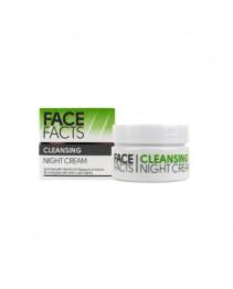 Крем ночной для лица Face Facts Cleansing 50 мл