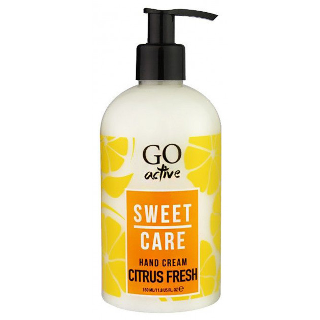 Крем для рук Sweet care Hand Cream CITRUS FRESH GO active 350 мл