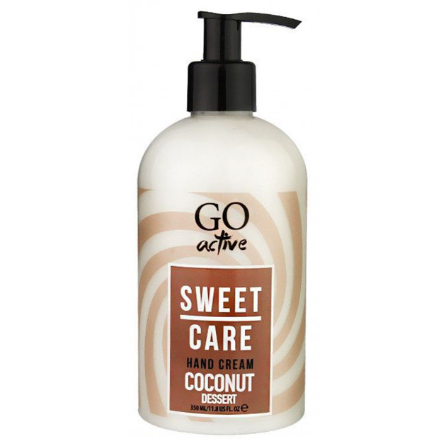 Крем для рук Sweet care Hand Cream COCONUT DESSERT GO active 350 мл