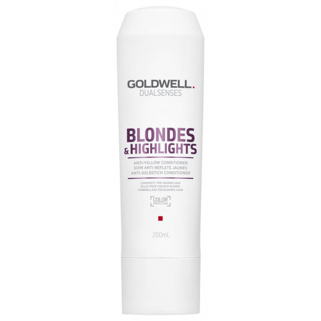 Кондиционер против желтизны для осветленных волос Goldwell Dualsenses Blondes Highlights Anti-Yellow Conditioner 200 мл