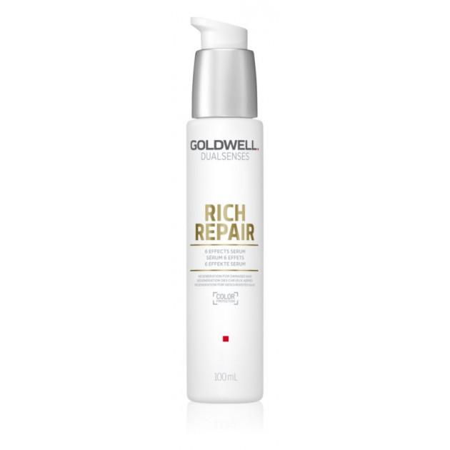 Сыворотка для сухих и поврежденных волос Goldwell Dualsenses Rich Repair 6 Effects Serum 100 мл