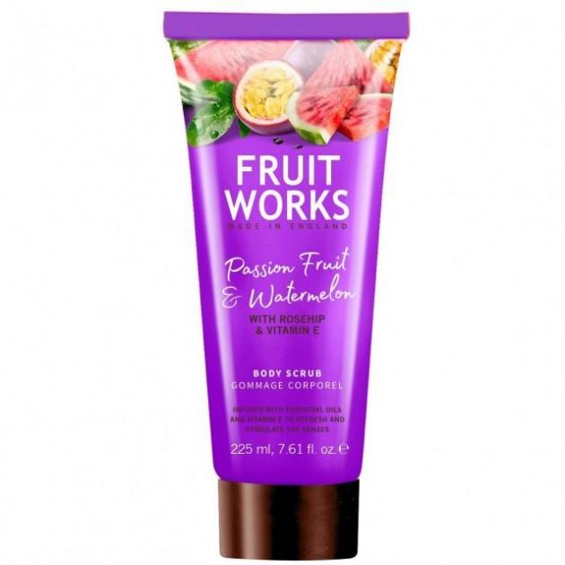 Скраб для тела FruitWorksBodyScrubPassionFruit&Watermelon 225 мл, Grace Cole
