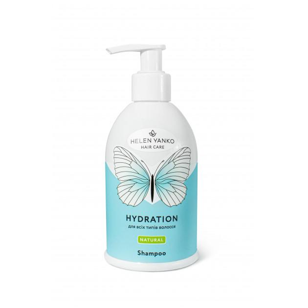 Шампунь для всех типов волос Helen Yanko Shampoo Hydration 300 мл