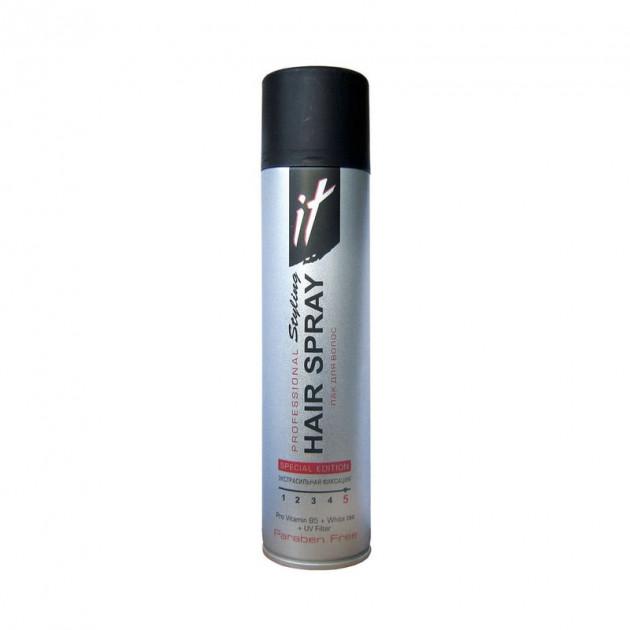 Лак для волос В5 Белый чай экстра сильной фиксации IT Проф Стайлинг  265 мл