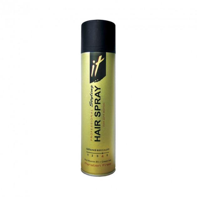 Лак для волос В5 Зеленый чай сильной фиксации IT Проф Стайлинг  265 мл