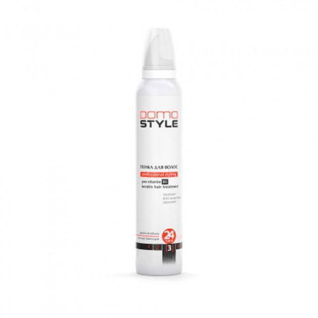 Пена для волос сильная фиксация Domo Style 200 мл