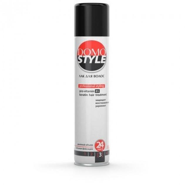 Лак для волос сильная фиксация 3 Domo Style 300 мл