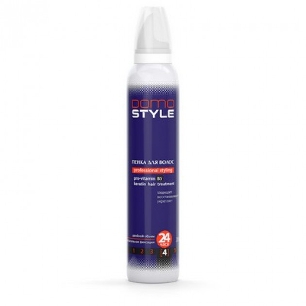 Пена для волос супер сильная фиксация Domo Style 200 мл