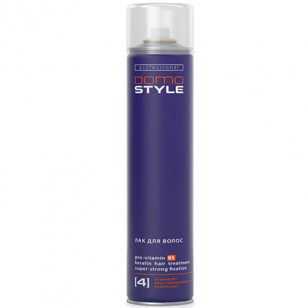 Лак для волос сверхсильной фиксацией Domo Style 500 мл