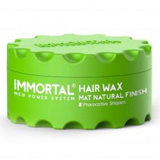 Воск для волос Immortal Mat Natural Finish 150 мл