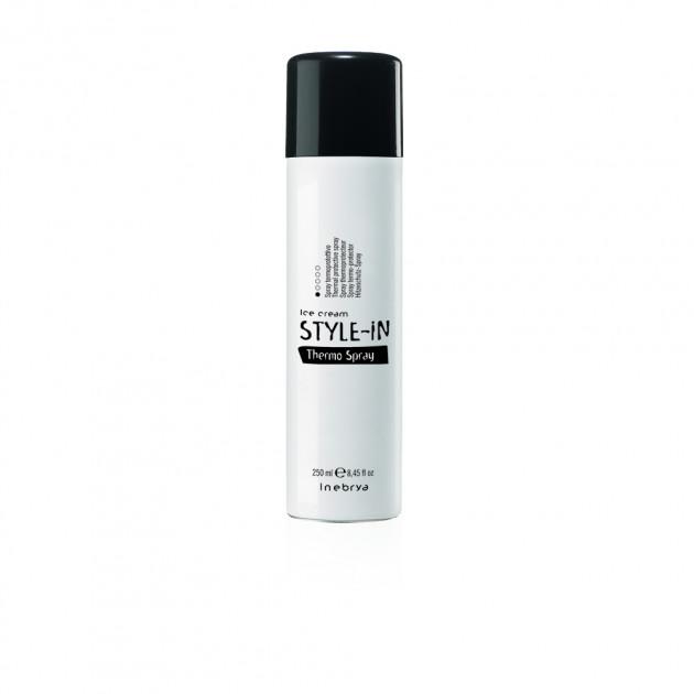 Термозащитный спрей для волос Inebrya Thermo Spray Go Sleek Safe straight 250 мл