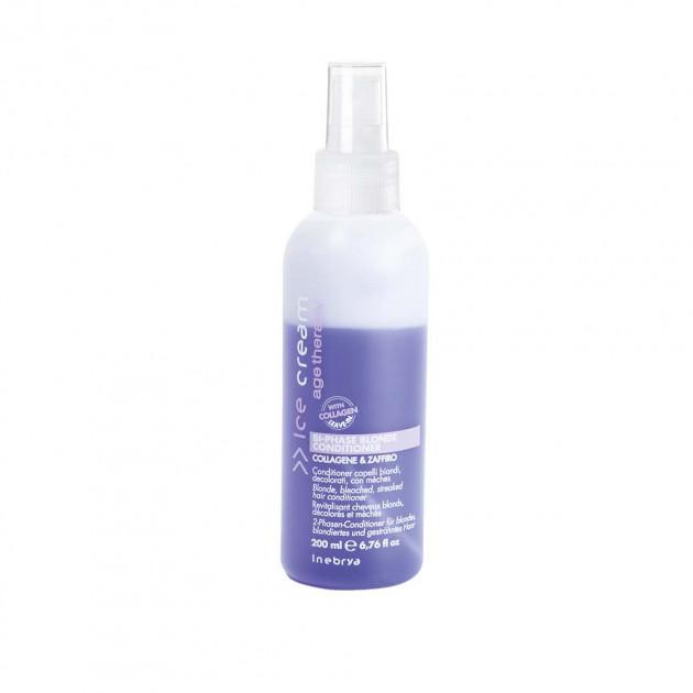 Двухфазный спрей для светлых волос Bi-Phase Blonde 200 мл, Inebrya