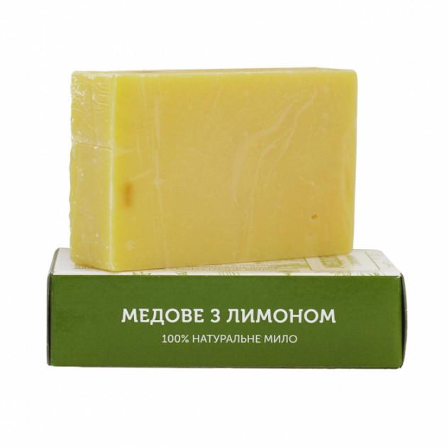 Мыло натуральное Медовое с лимоном Яка 75 г