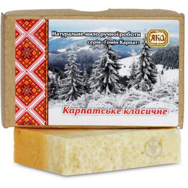 """Мыло натуральное """"Карпатское классическое"""" Яка 75 г"""