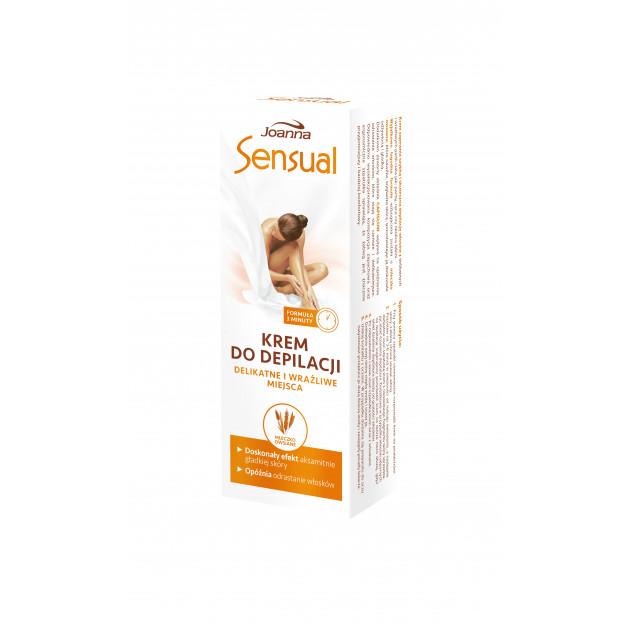 Крем мягкий для депиляции чувствительных мест и зоны бикини Овсяное молочко Joanna 100 г