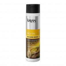 Бальзам для поврежденных и сухих волос Kayan Professional Rich Oil 250 мл