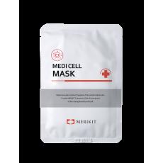 Интенсивная, регенерирующая маска из биоцеллюлозы кокоса medi ceil mask Merikit 25 г