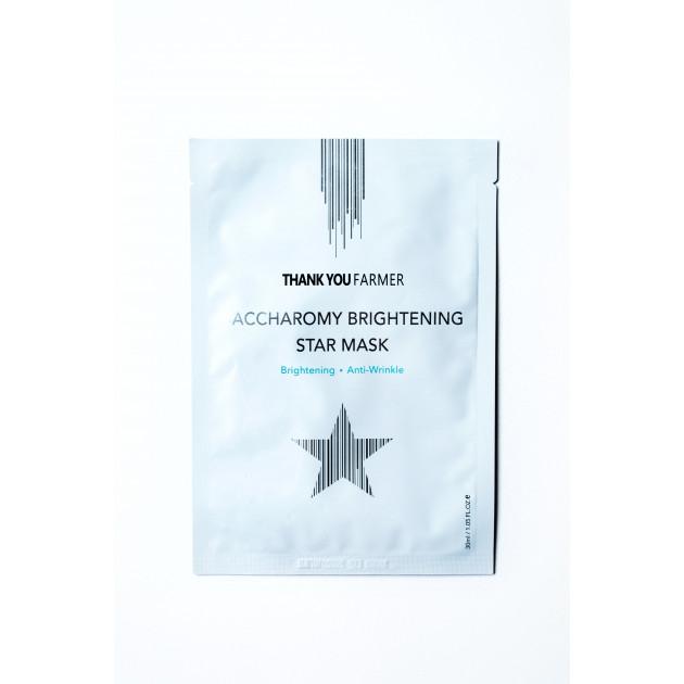 Звездная антивозрастная маска против тусклости 30 мл ThankYouFarmerStarMask