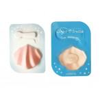 Ночная капсульная маска для лица с жемчужной пудрой Lassieel Night Miracle Pearl Shell Mask 2 шт