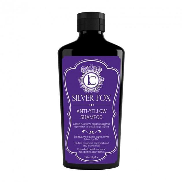 Шампунь против желтизны волос SILVER FOX Anti-Yellow Shampoo LavishCare 250 мл