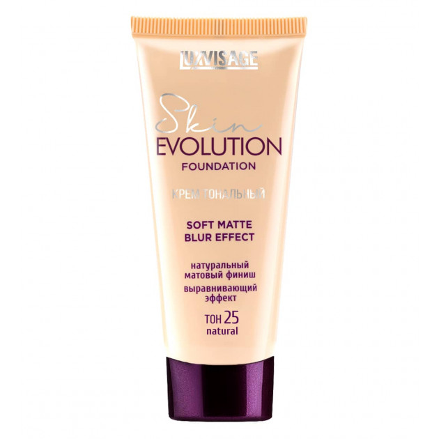Тональный крем для лица Luxvisage Skin Evolution Soft Foundation Matte Blur Effect 25 natural 35 г