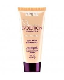 Тональный крем для лица Luxvisage Skin Evolution Soft Foundation Matte Blur Effect 30 rose beige 35 г