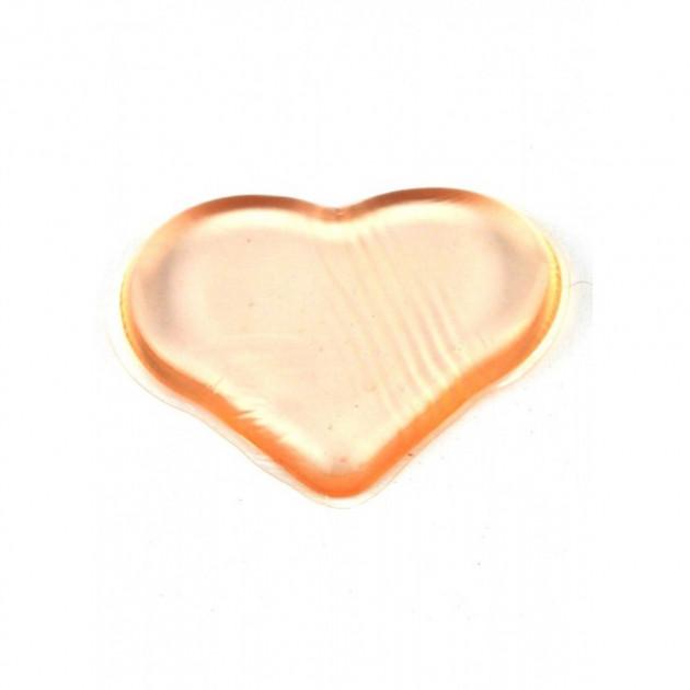 Спонж силиконовый сердечко Manfel А-7