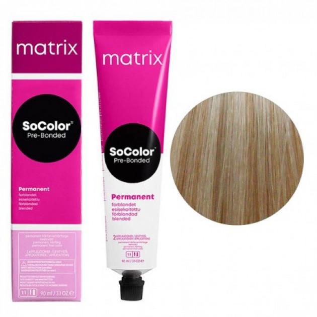 Краска для волос 10AV экстра светлый блондин пепельно-перламутровый Matrix Socolor Beauty Pre-Bonded 90 мл