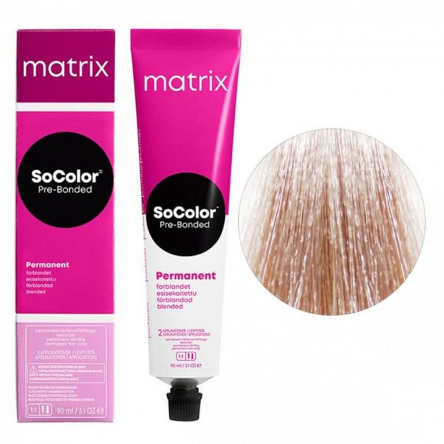 Краска для волос 11A ультра светлый блондин пепельный Matrix Socolor Beauty Pre-Bonded 90 мл