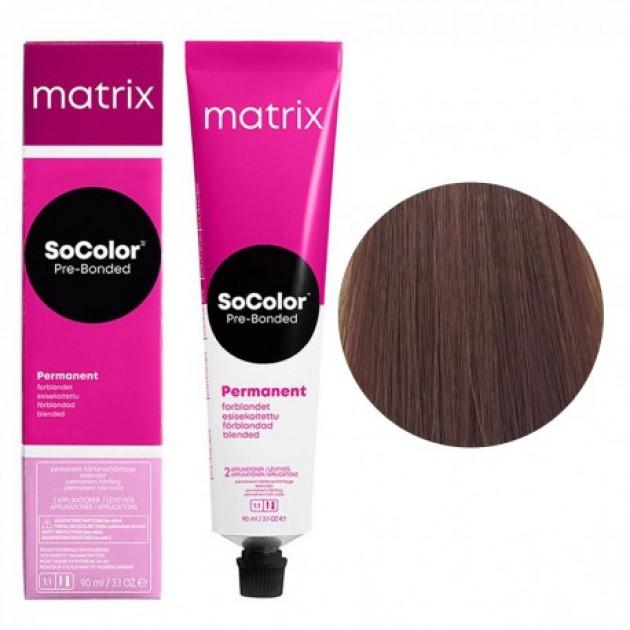 Краска для волос 7М блондин мокка Matrix Socolor Beauty Pre-Bonded 90 мл