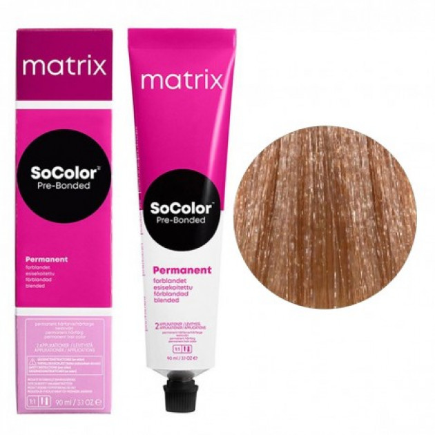 Краска для волос 9М очень светлый блондин мокка Matrix Socolor Beauty Pre-Bonded 90 мл