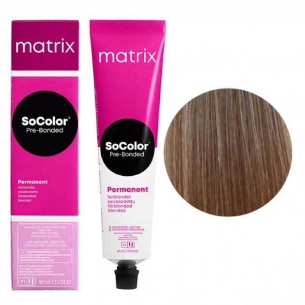 Краска для волос 9N очень светлый блондин Matrix Socolor Beauty Pre-Bonded 90 мл