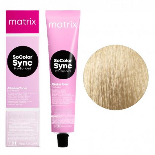 Краска для волос без аммиака 10MM экстра светлый блондин мокка мокка Matrix Socolor Sync Pre-Bonded 90 мл
