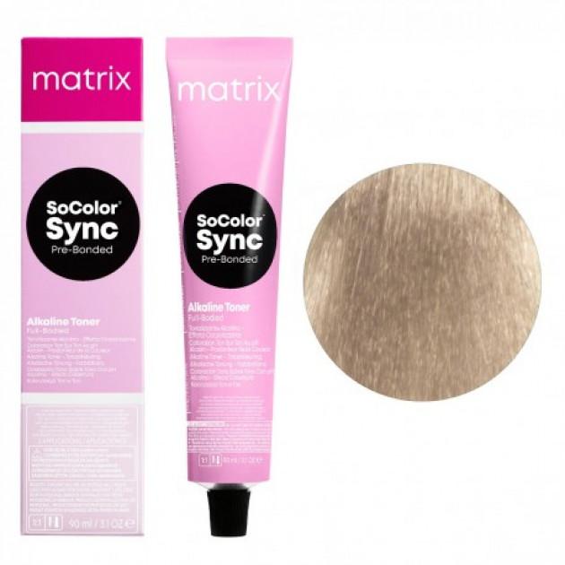 Краска для волос без аммиака 10P экстра светлый блондин жемчужный Matrix Socolor Sync Pre-Bonded 90 мл