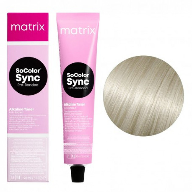 Краска для волос без аммиака 11N ультра светлый блондин натуральный Matrix Socolor Sync Pre-Bonded 90 мл