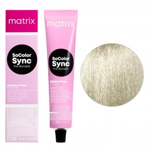 Краска для волос без аммиака SPV прозрачно-пастельный перламутровый Matrix Socolor Sync Pre-Bonded 90 мл
