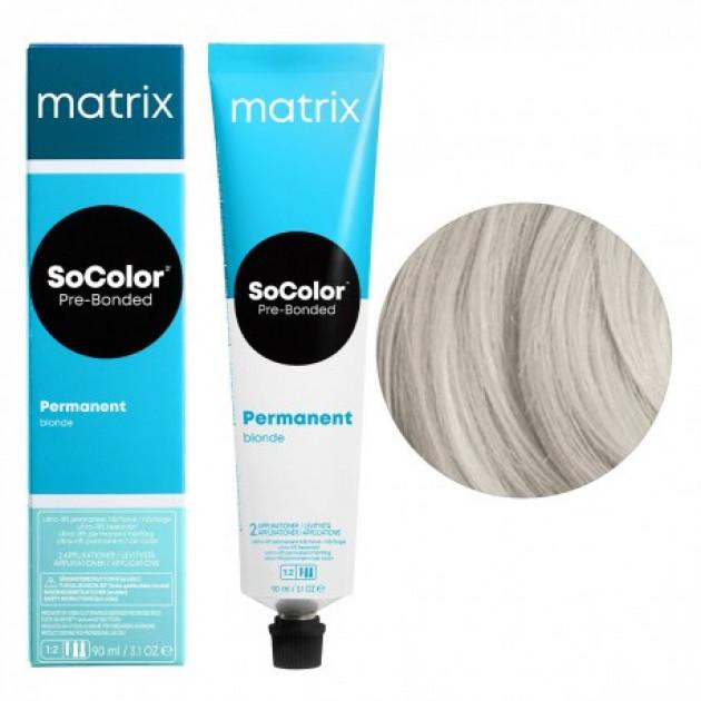 Краска для волос UL-P+ ультра блонд натуральный Matrix Socolor Beauty Pre-Bonded 90 мл