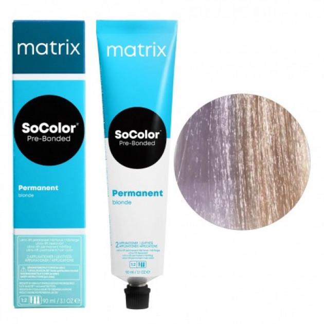 Краска для волос UL-V+ ультра блонд перламутровый Matrix Socolor Beauty Pre-Bonded 90 мл