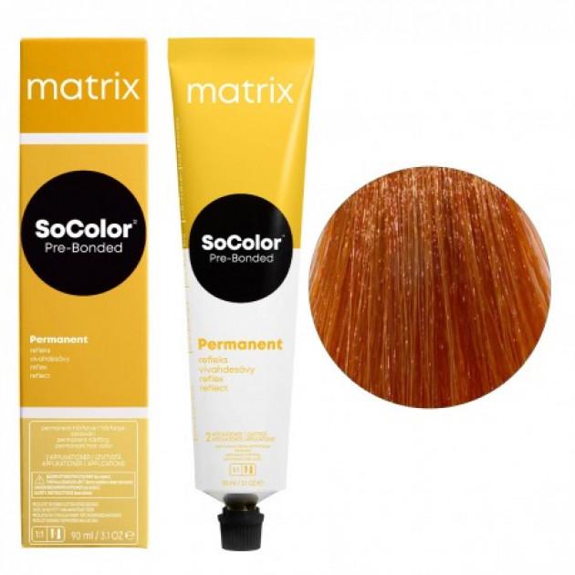 Краска для волос 8CC светлый блондин глубокий медный Matrix Socolor Beauty Pre-Bonded 90 мл