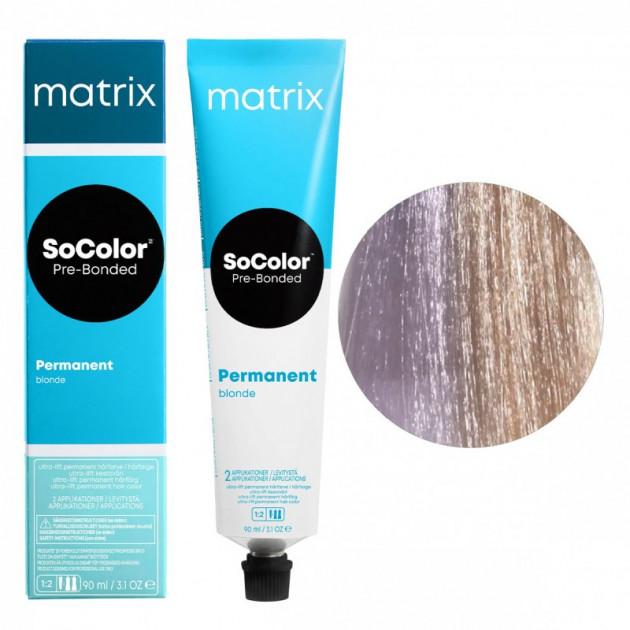 Краска для волос UL-VV ультра блонд глубокий перламутровый Matrix Socolor Beauty Pre-Bonded 90 мл