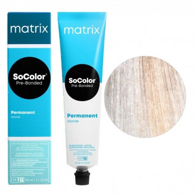 Краска для волос UL-N+ ультра блонд натуральный Matrix Socolor Beauty Pre-Bonded 90 мл