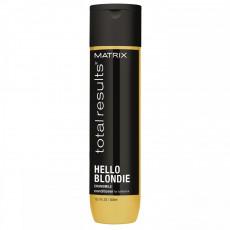 Кондиционер для светлых волос с экстрактом ромашки 300 мл, Matrix Total Results Hello Blondie