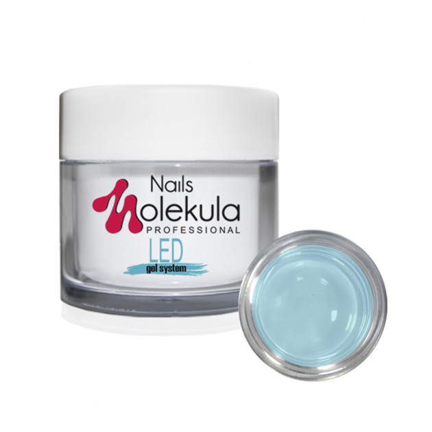 Моделирующий гель GelLED№11Blue Nails Molekula 15 мл
