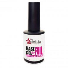 База-гель для фольги Base Gel For Foil Nails Molekula 12 мл