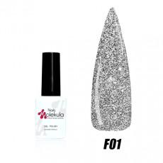 Гель-лак Nails Molekula Flash effect collection №F01 6мл